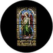 "Rosco Standard Color Glass Spectrum Gobo #86677 Raphael Stained Glass (86mm = 3.4"")"