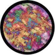 """Rosco Standard Color Glass Spectrum Gobo #86734 Earthtones (86mm = 3.4"""")"""