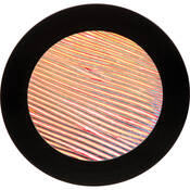 "Rosco Colorwave Effects Color Glass Gobo - #33201 - Red Strands (86mm = 3.4"")"
