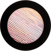 "Rosco Colorwave Effects Color Glass Gobo - #33203 - Magenta Strands (86mm = 3.4"")"