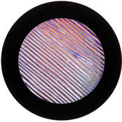"Rosco Colorwave Effects Color Glass Gobo - #33205 - Indigo Strands (86mm = 3.4"")"