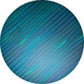 "Rosco Colorwave Effects Color Glass Gobo - #33304 - Cyan Mosaic (86mm = 3.4"")"