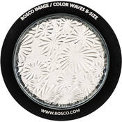 "Rosco Image Effects Black and White Glass Gobo - #33600 - Flower (86mm = 3.4"")"