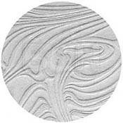 "Rosco Image Effects Black and White Glass Gobo - #33609 - Lazy Swirls (86mm = 3.4"")"