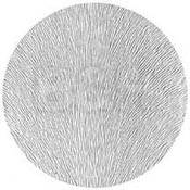 "Rosco Image Effects Black and White Glass Gobo - #33611 - Pin Feathers (86mm = 3.4"")"
