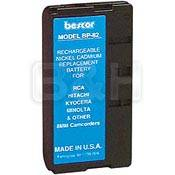 Bescor BP-82NMH Nickel Metal Hydride Battery Pack - 6v, 2000mAh