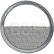 DeSisti Scrim - Half Single Stainless Steel - 5-1/8""