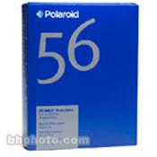 """Polaroid Type 56 Sepia 4x5"""" Instant Black & White Print Sheet Film"""