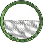 "Mole-Richardson 3"" Half Single Wire Scrim"