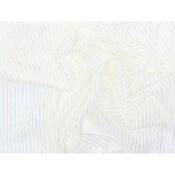 """Rosco Showcloth - 47""""x 30' Roll - White/Iridescent"""