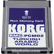 Korg RMC-PCM02 - Turkish/Arabic Styles ROM Card