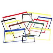 "Lineco Polypropylene Job Jacket (12.5 x 9.75"", Yellow, 25 Pack)"