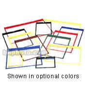 "Lineco Polypropylene Job Jacket (9.75 x 12.5"", Black, 25 Pack)"
