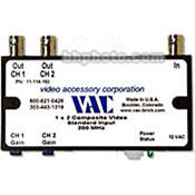Vac 1x2 Composite Video Distribution Amplifier