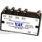 Vac 1x4 Unbalanced Stereo Audio Distribution Amplifier