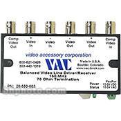 Vac 20550003 Balance Line Driver and Receiver