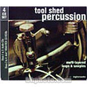 Big Fish Audio Sample CD: Tool Shed Percussion (Audio, WAV, Rex and ACID)