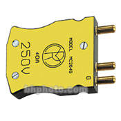 Mole-Richardson 60 Amp 250 Volt 3-Pin Plug