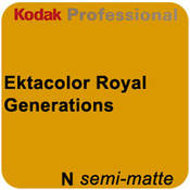 "Kodak Ektacolor Royal Generations 4""x511' Roll Semi Matte Paper"