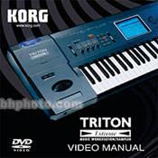 Korg DVD: TRITON Extreme Manual - Manual ONLY