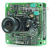 Marshall Electronics V-1245CCS 1/4-Inch CCD Color Board Camera for C- and CS-Mount Lenses