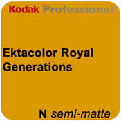"Kodak Ektacolor Royal Generations 10""x255' Roll Semi Matte Paper"