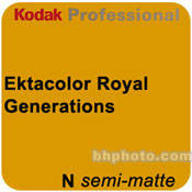 "Kodak Ektacolor Royal Generations 5""x255' Roll Semi Matte Paper"