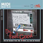 Big Fish Audio Dr. Feelgood - MIDI Drum Loop CD-ROM