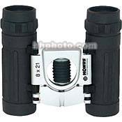 Konus 8x21 Basic Binocular (Black, Clamshell Packaging)