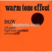 Dedolight Warm Tone Effect Gel Filter Set for DFH400 Filter Holder