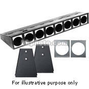 Altman Borderlight, Floor Trunnions, 4 Circuits - 6'