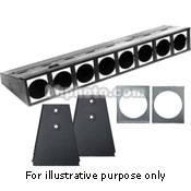 Altman Borderlight, Floor Trunnions, 3 Circuits - 7.5'