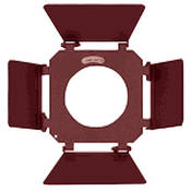 "Mole-Richardson 4 Way/4 Leaf Barndoor Set for 10"" Junior Solarspot"