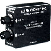Allen Avionics Video Delay, Slide Switch Adjustment
