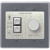 RDL RCX-2 - Wall-Mount Rotary Room Control for RCX-5CM (Stainless Steel)