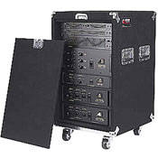 Odyssey Innovative Designs CRP16W Carpeted Rack Case (Black)