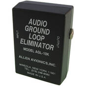 "Allen Avionics AGL-10K Audio Isolation Transformer, 1/4"" Phono"