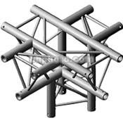 Milos M222 Trio 5 Way Leg Cross Piece - Down Leg, Apex Down