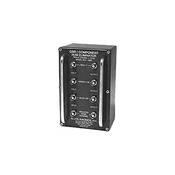 Allen Avionics HEC-4000 Video Hum Eliminator, Hum and Noise Eliminator, Four Channel I/O, 75 ohms, Metal Housing