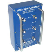 Allen Avionics VNE-753 Video Noise Eliminator, Hum and Noise Eliminator, Three Channel I/O, Metal Housing