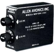 Allen Avionics Video Delay, Slide Switch Adjustment, Rackmountable, Composite