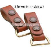 Billingham Clip Sling Attachment - for Billingham Waist Strap Attachment (Replacement Black/Tan)