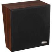 """Bogen Communications WBS8T725BRV 8"""" 4W Loudspeaker in Wall Baffle (Walnut, Screw Terminals, Volume Control)"""