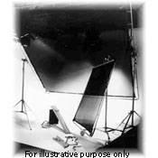 Matthews Butterfly/Overhead Fabric - 8x8' - Hi Lights - Sewn