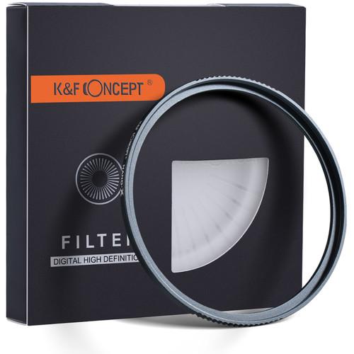K/&F Concept Filtro/de Protecci/ón Ultravioleta UV/43mm con MRC Multirresistentes para Objetivo de 43mm con Funda