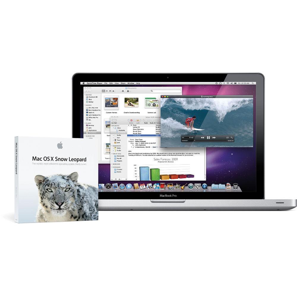 Apple Mac OS X 10 6 Snow Leopard
