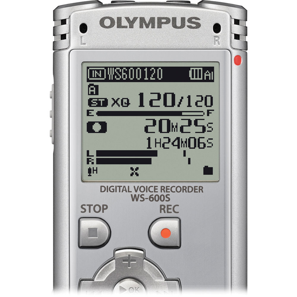 Olympus WS-600S Digital Voice Recorder