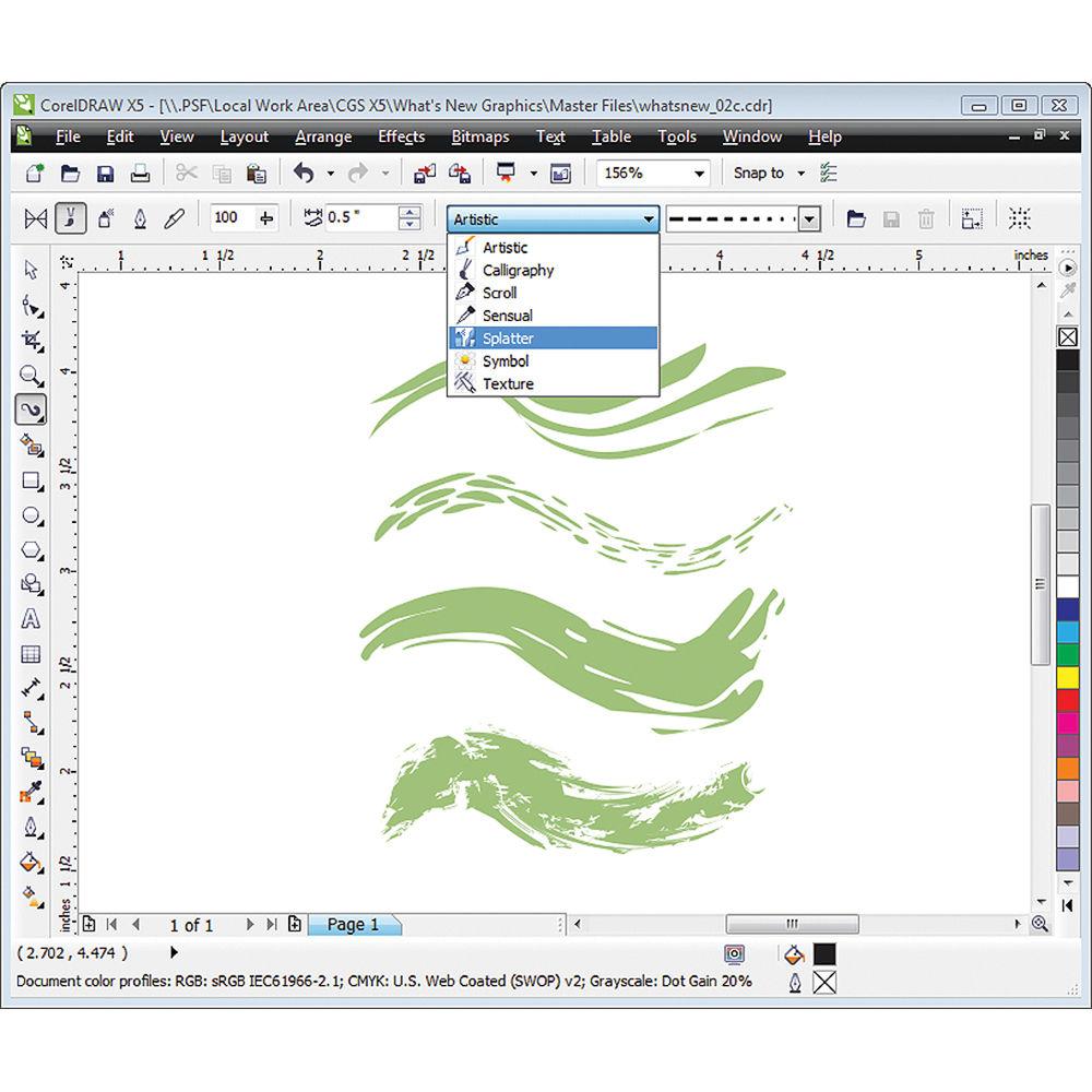 CorelDRAW Graphics Suite X5 Software