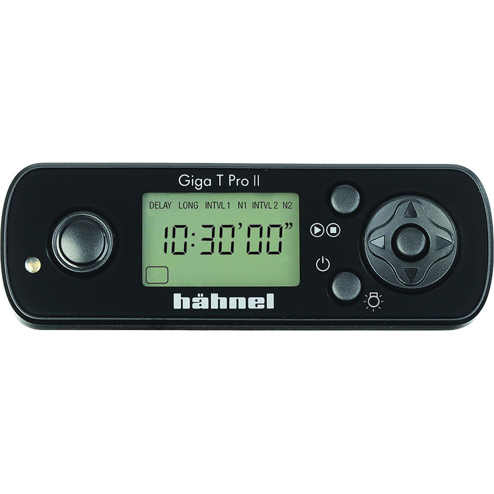 hahnel Giga T Pro II 2 4 GHz Wireless Timer Remote for Sony Cameras