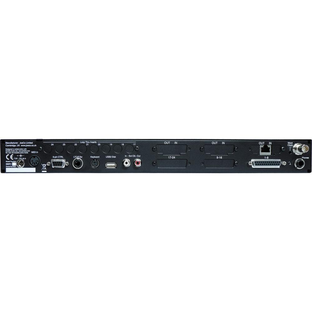JoeCo Blackbox BBR64-Dante Rack 64-Channel Recorder